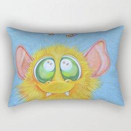 A most mindful Troll Rectangular Pillow