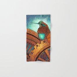 Clockwork Hummingbird Hand & Bath Towel