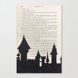 Hogwarts! Canvas Print
