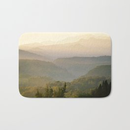 Subtle Sunrise Bath Mat