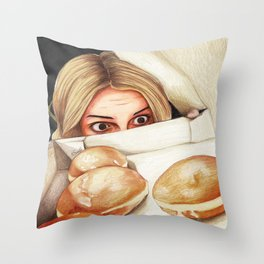 Rydel Lynch  Throw Pillow