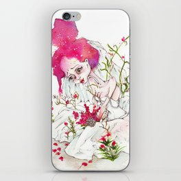 The sad Bride iPhone Skin