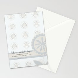 No Better Day (Listen to Your Heart) Stationery Cards