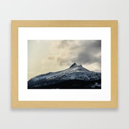 Silence in the Snow Framed Art Print