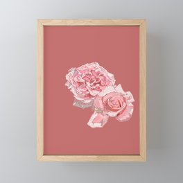 Roses Framed Mini Art Print