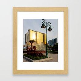 Naga Fountain Framed Art Print