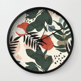 Abstract nature painting 57 Wall Clock