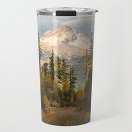 Autumn Mount Hood Scene Travel Mug