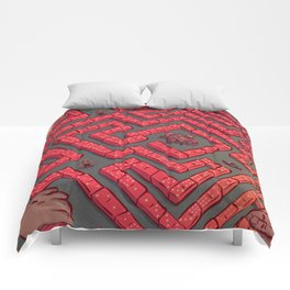 Domino Labyrinth Comforters