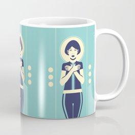 Evangeline Blue Coffee Mug