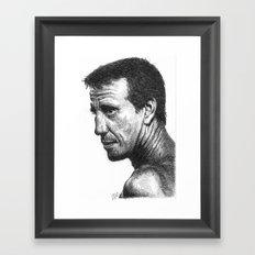 Roy Scheider Framed Art Print