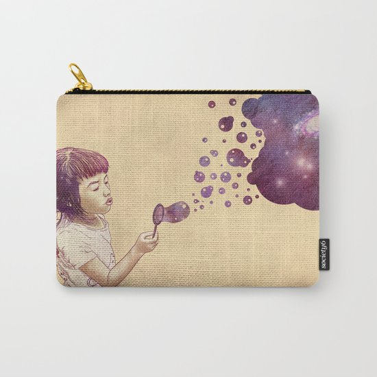 Cosmic Bubbles Carry-All Pouch