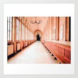 Dreamy Corridor Art Print