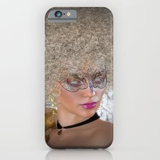 Afro Blonde Beautiful Masked Face Slim Case iPhone 6s