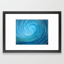 Barrel Wave Framed Art Print