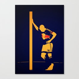Thierry Henry - New York Red Bulls Canvas Print