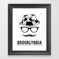 Brooklyndia Framed Art Print