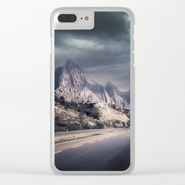 Storm over Babylon Clear iPhone Case