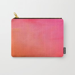 PinkOrange Gradient Carry-All Pouch