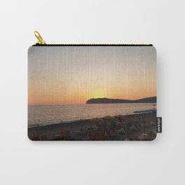 Beach sunset Italy Carry-All Pouch