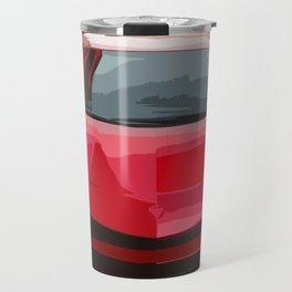 Red Aventador SV Coupe Travel Mug