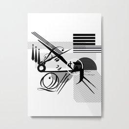 Vapore Metal Print