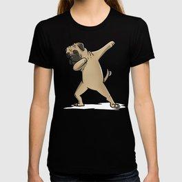 Funny Dabbing Bullmastiff Dog Dab Dance T-shirt