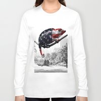 central park Long Sleeve T-shirts featuring Central Park, NY by DistinctyDesign