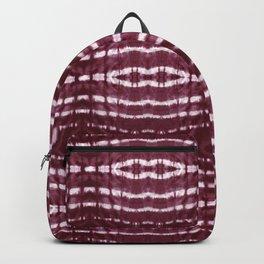 Itajime Burgundy Stripe Backpack