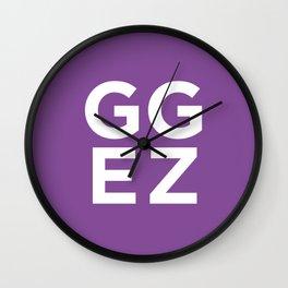 GG EZ Wall Clock