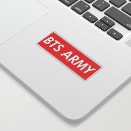 BTS ARMY red Sticker