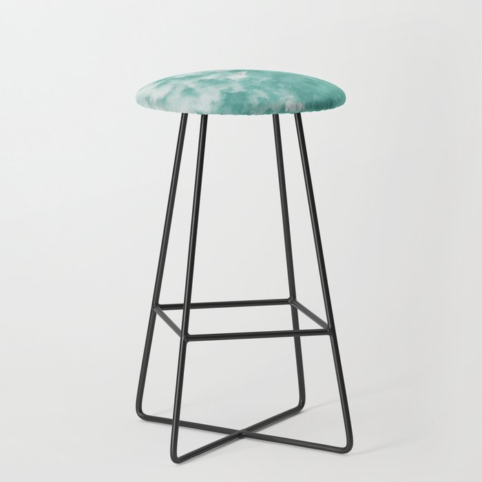Surfing in the Ocean Bar Stool