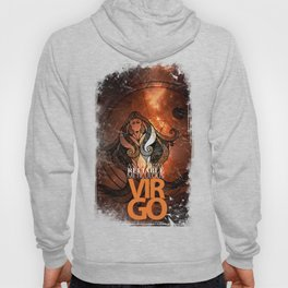Virgo-Analytical, Reliable, Meticulous Hoody