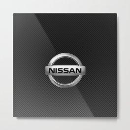Nissan Carbon Metal Print