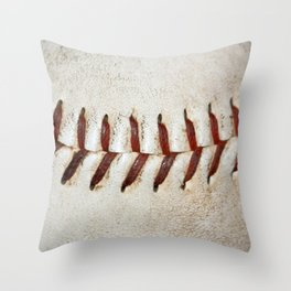 Vintage Baseball Stitching Throw Pillow
