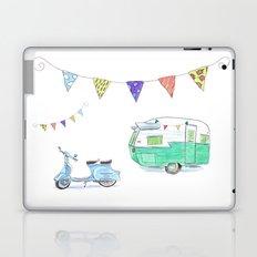 June Cleaver Goes Camping Laptop & iPad Skin