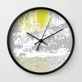 Cosmic Winter Wall Clock