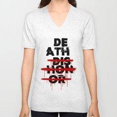 Death Before Dishonor Unisex V-Neck