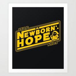 Star Kids: A Newborn Hope Art Print