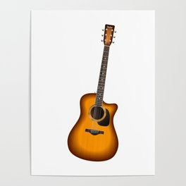 Guitar - Guitar Player Poster