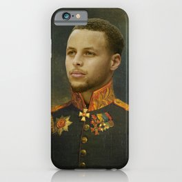Steph Curry Classical Painting iPhone Case