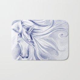 Andalusian mane Blue Bath Mat