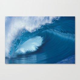 Teahupoo Tahiti Perfect Barrel Canvas Print