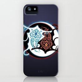 Rin Vang (Raava x Vaatu - Yin Yang) iPhone Case