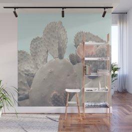 Desert Cactus Blossom Wall Mural