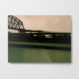 The colors of this World Metal Print