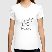 equality T-shirts featuring Marriage Equality by Purshue feat Sci Fi Dude