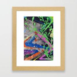 Color Entropy III Framed Art Print