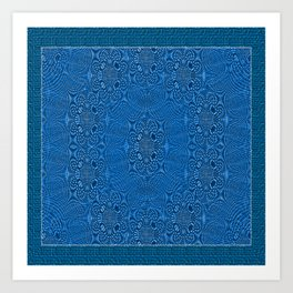 Carpet Designs Art Print