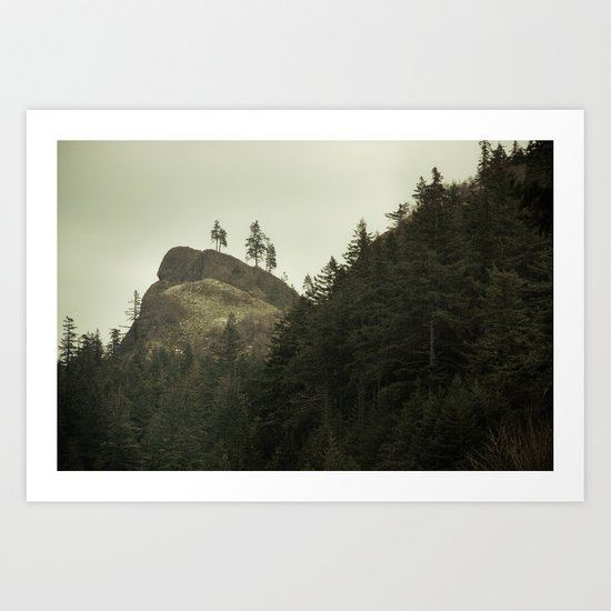 Columbia Gorge II Art Print